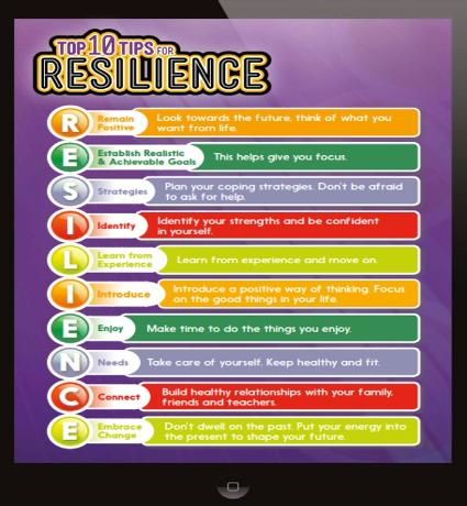 Top 10 tips for resilience