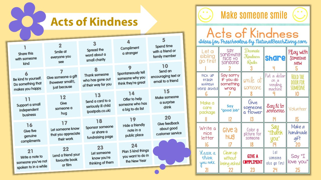Acts of kindness(1)